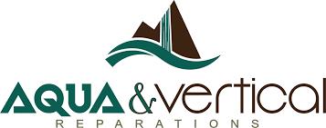 logo aqua et vertical