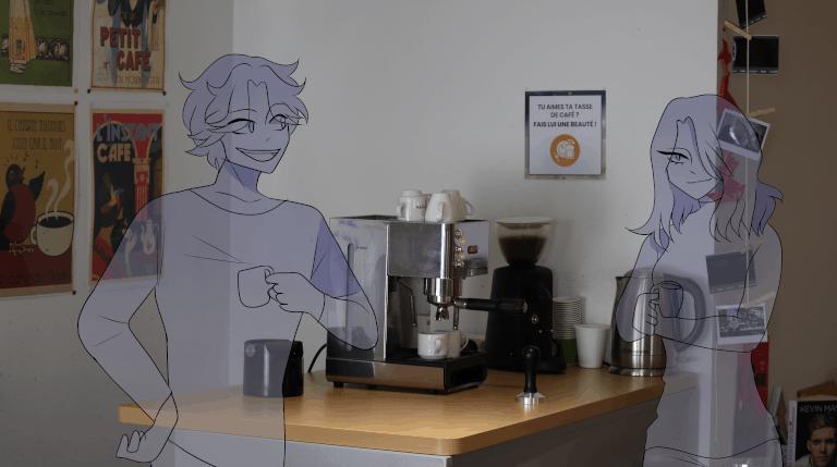 accueil café coworking